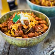 Chipotle Chili con Carne with Hominy. www.keviniscooking.com
