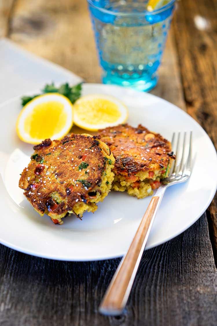 Couscous Veggie Patties. www.keviniscooking.com