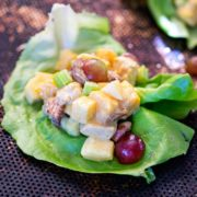 Mango Curry Chicken Salad Wraps. www.keviniscooking.com