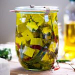 Marinated Feta Cheese with Chiles and Herbs