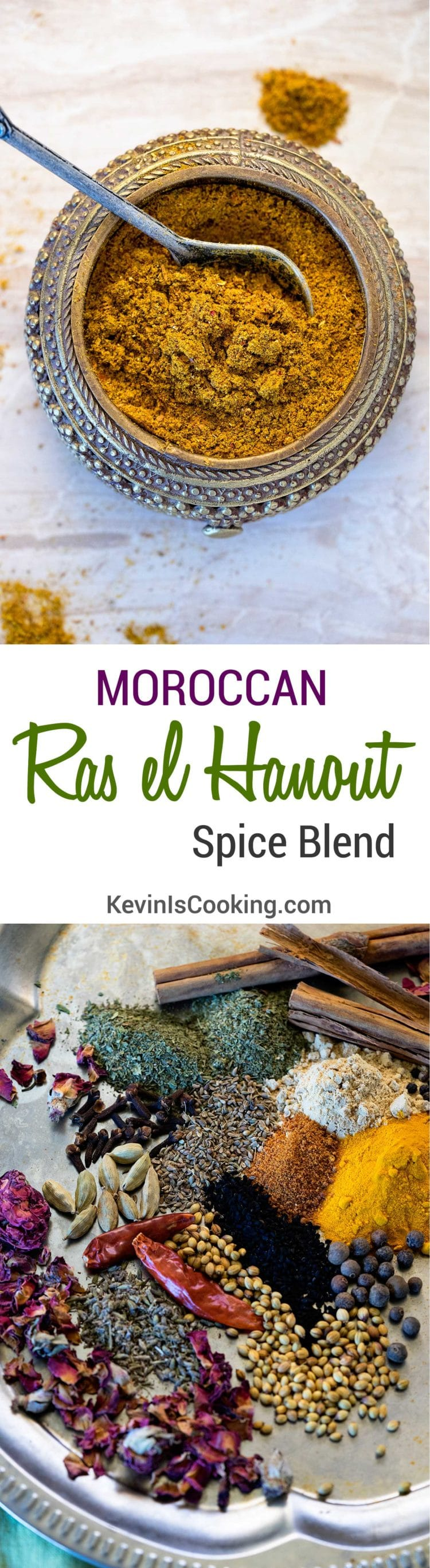 Like curry powders, there is no one recipe for a Ras el Hanout Spice blend, an outrageously aromatic North African spice blend with influences from India.