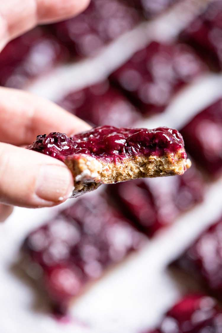 No Bake Gluten Free Chai Berry Bars. www.keviniscooking.com