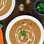 Creamy Black Lentils (Indian Dal Makhani)
