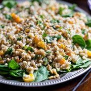 Barley Salad with Apricot and Pine Nuts. www.keviniscooking.com
