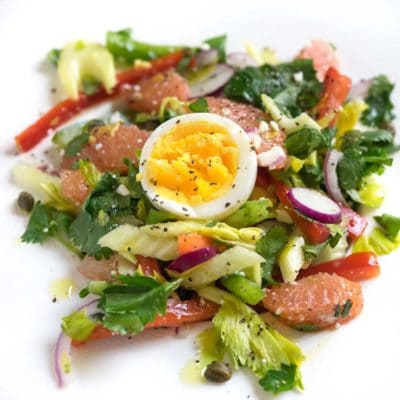 Citrus Pepper and Celery Salad