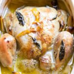 Thai Roasted Chicken in Coconut Milk