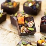 Dark Chocolate Fruit Bites