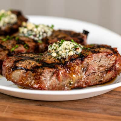 Perfect Grilled Rib Eye Steak