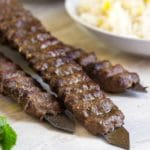 Beef and Lamb Kabobs