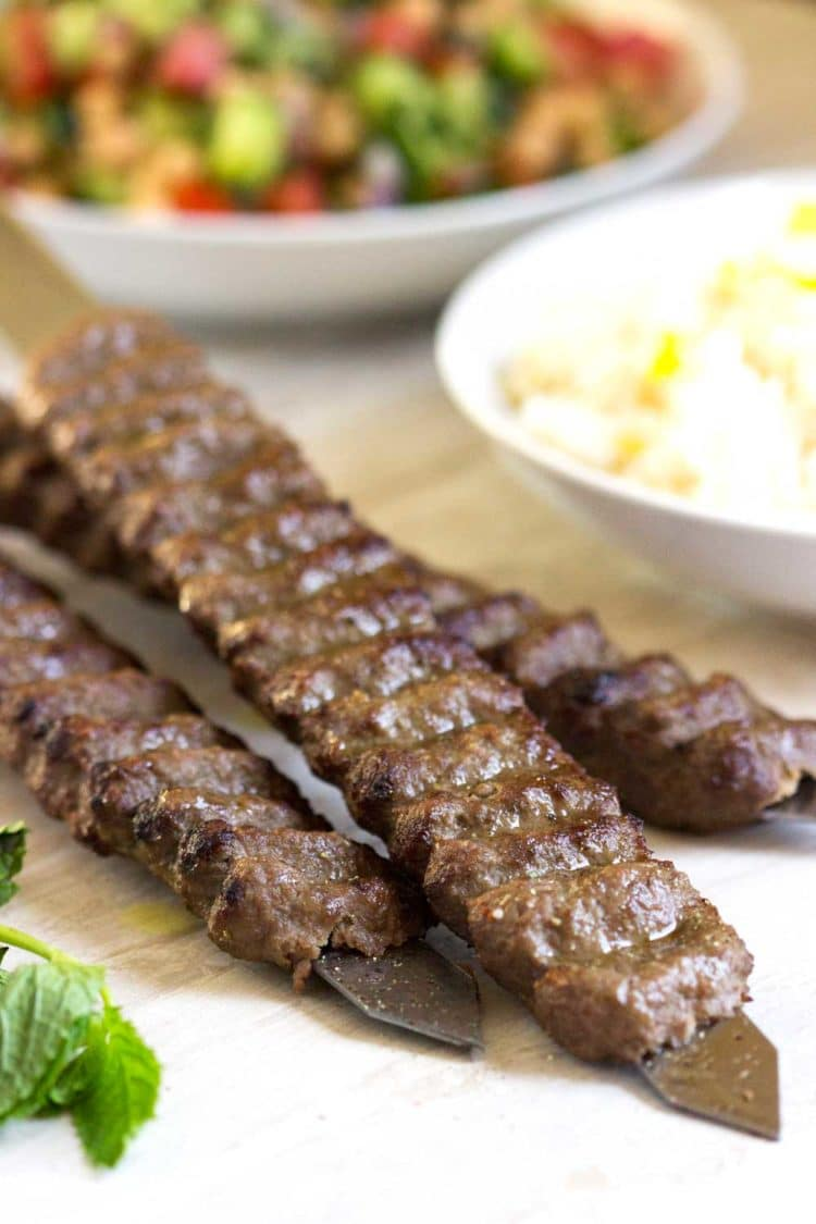 What kind of meat is good for kabobs