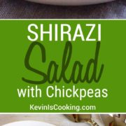 This is hands down one of the easiest salads to make and one I go to often for a healthy touch and lots of flavor.