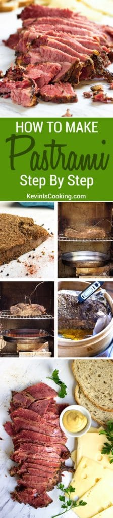 This is a fantastic step by step recipe to make homemade pastrami! Fantastic flavor and perfect for sandwiches, rarely are there any leftovers.