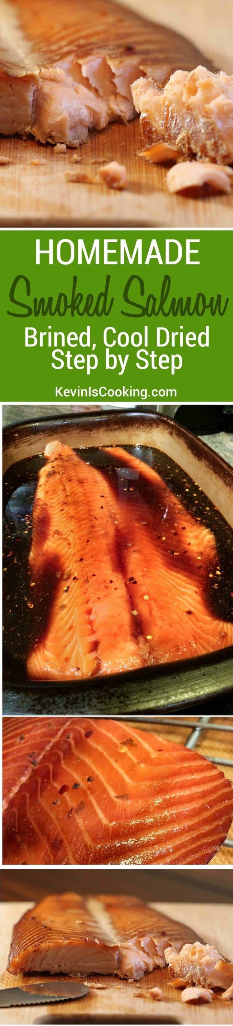 Liquid brine for smoking salmon for How to smoke fish