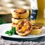 Cheddar Bacon Jam Puff Pastry Bites