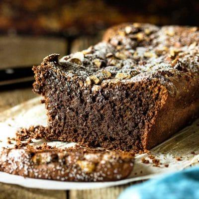 Chocolate Almond Tea Cake