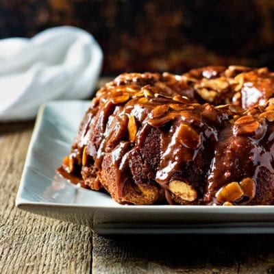 Chocolate Caramel Monkey Bread
