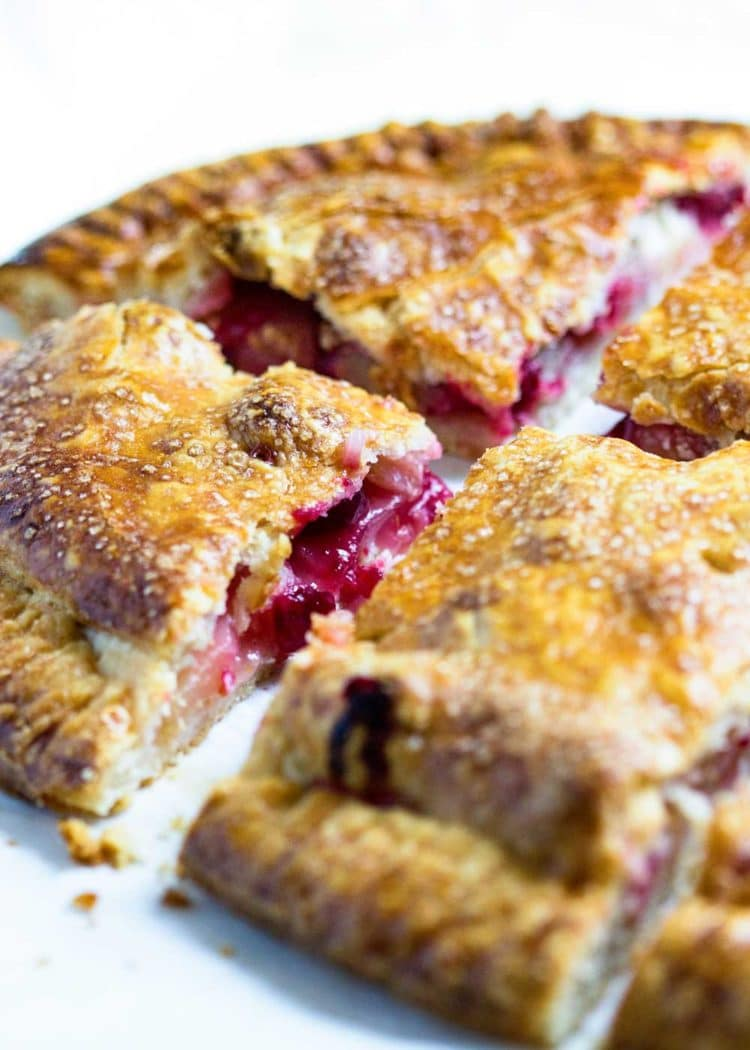 Cranberry Apple Slab Pie - keviniscooking.com