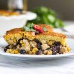 Easy Chicken Tamale Pie