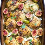 Honey Roasted Chicken and Figs