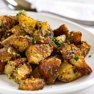 Herb Roasted Poupon Potatoes