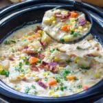 Southwest Slow Cooker Corn Chowder