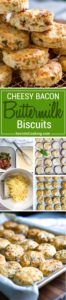 These Buttermilk Biscuits are loaded with bacon, green onion and Gruyere cheese, baked to a golden brown and perfect with soups, stews and holiday dinners. Better than any restaurant version!