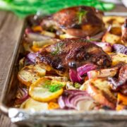 Five Spice Roasted Chicken and Vegetables