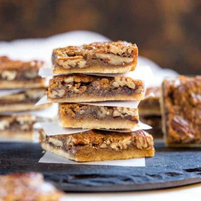 Slab Pecan Pie Bars
