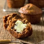 Pumpkin Butter All Bran Muffins