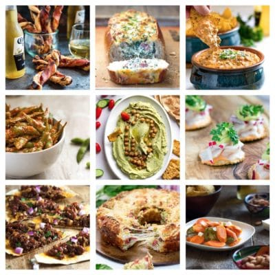 New Years Eve Appetizers and Snacks!