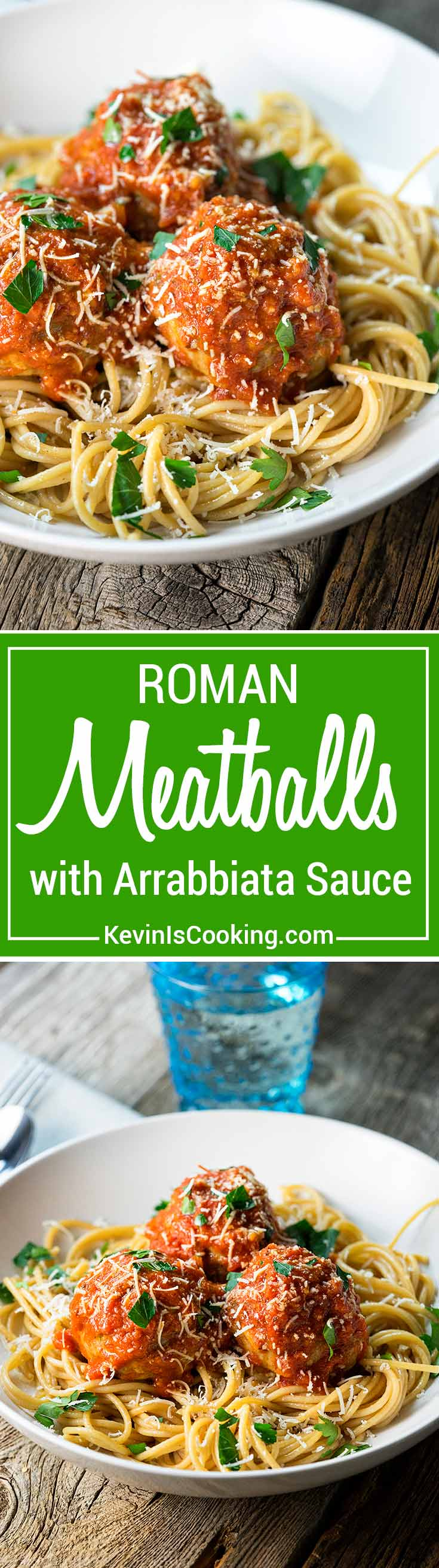 Homemade Arrabbiata Sauce - A wonderfully rich, zesty and spicy tomato sauce made from crushed tomatoes, red wine, garlic and red pepper flakes that is slowly simmered with herbs and onions. Perfect for over any pasta and meatballs.