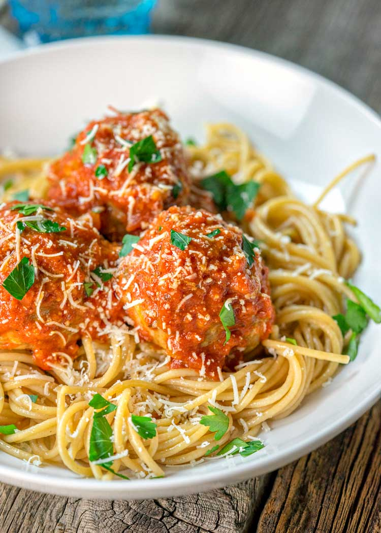 Roman Meatballs with Arrabbiata Sauce