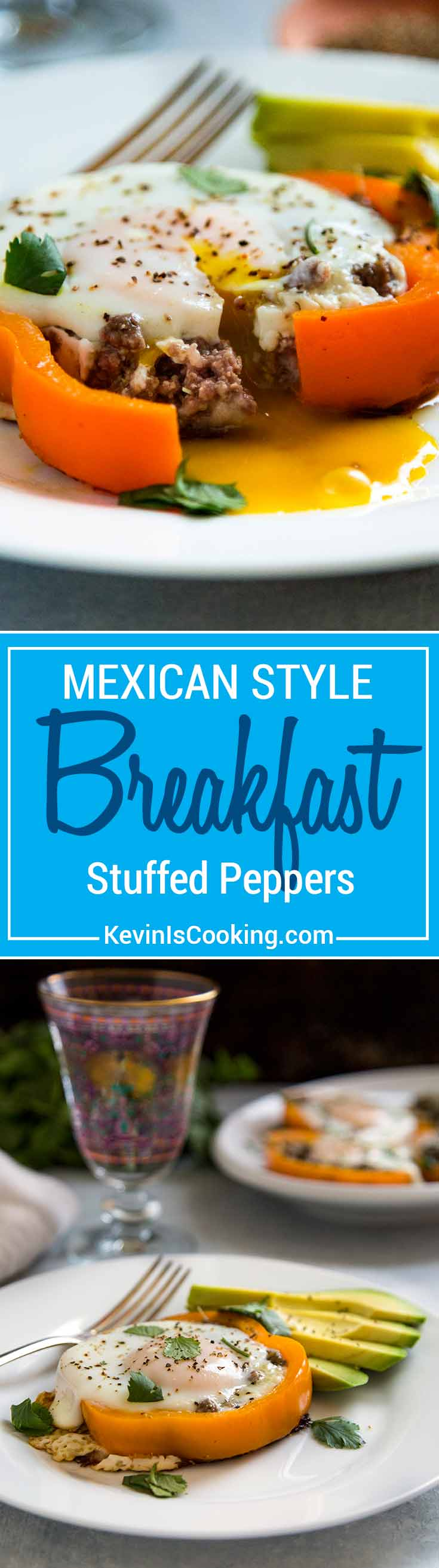 These Breakfast Stuffed Peppers have beef, salsa, cheese and a beautiful egg to top off one hearty and delicious breakfast. You need this one, and making a batch for the family is easy!