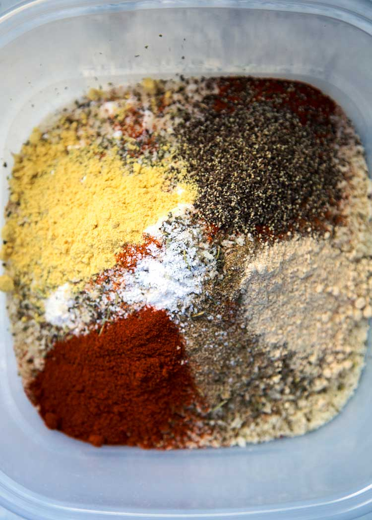 spices for My Oven Fried Chicken a KFC copycat