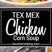 My Instant Pot Tex Mex Chicken Corn Soup is loaded with on hand pantry items, shredded chicken, lots of corn, green chilis and warm spices to fill you up. The family devours this!