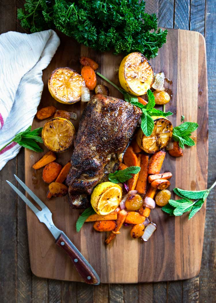This aromatic and succulent Moroccan Slow Roasted Pork is pull apart delicious after getting a dry rub using my Moroccan Seven Spice blend of black pepper, cinnamon, ginger and other warm spices. keviniscooking.com
