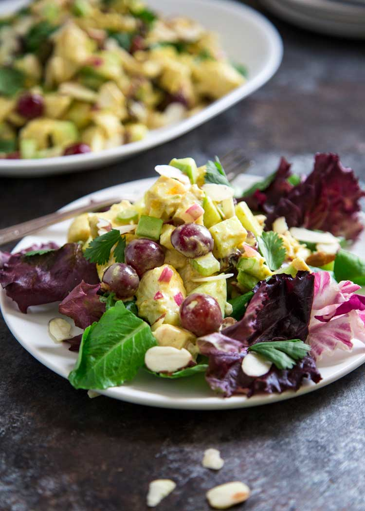 A great salad made with most things already on hand in the kitchen and pantry, this Chicken Curry Salad is a blend of freshness and flavorful bites made up of textured chicken, fruit and vegetables. keviniscooking.com