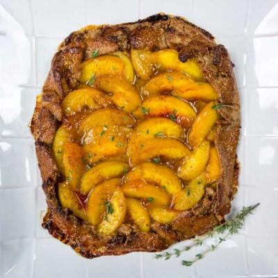 Spiced Peach Galette