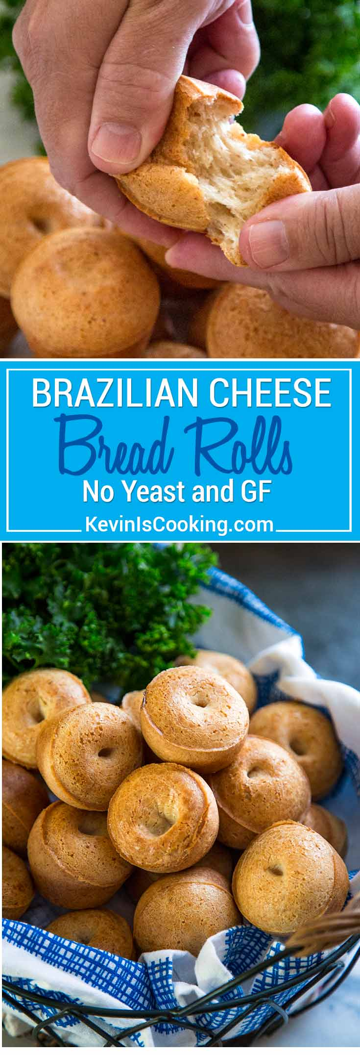 Super easy to make, no yeast involved and they're GF for my friends who can't do wheat. These Brazilian Cheese Bread Rolls are my new addiction. So easy!