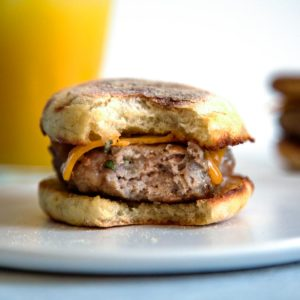 A combination of ground turkey and pork is my favorite and with a little maple syrup and spices, you can have Homemade Breakfast Sausage in mere minutes. keviniscooking.com