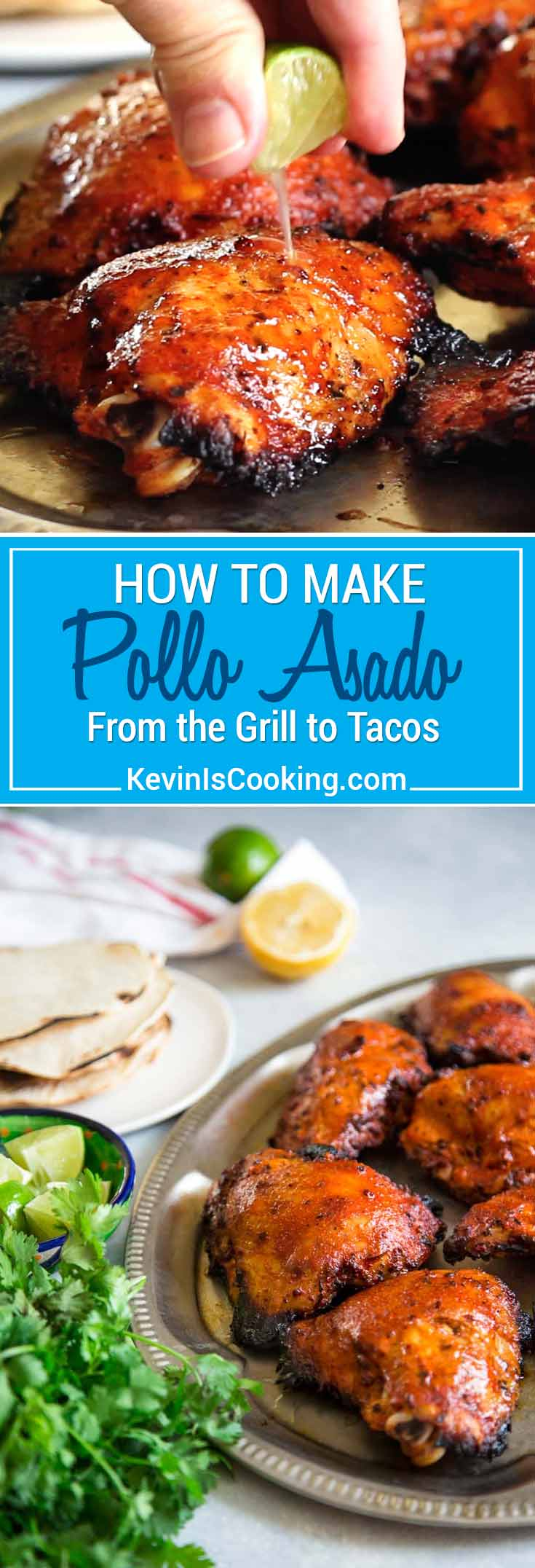 My take on How To Make Pollo Asado starts with marinating chicken in orange and lime juice, oregano, cumin, garlic and achiote paste overnight. Grill & eat!