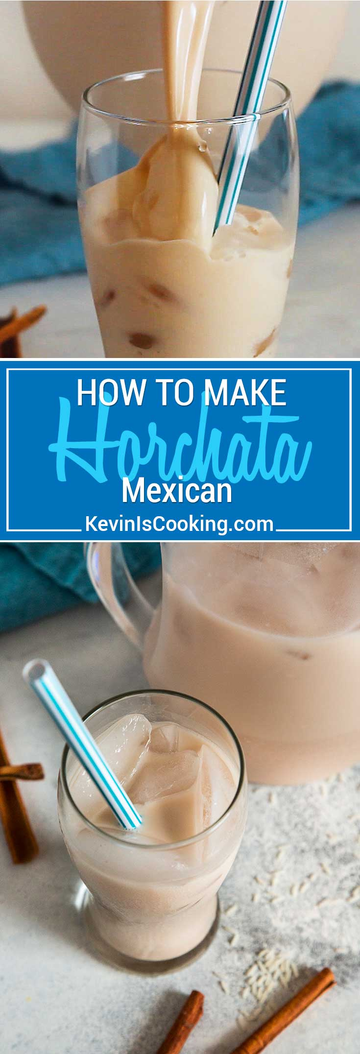 Horchata is a sweet, non-alcoholic Mexican beverage made from water, rice and cinnamon. My tasty version has a few ingredients that other recipes lack.
