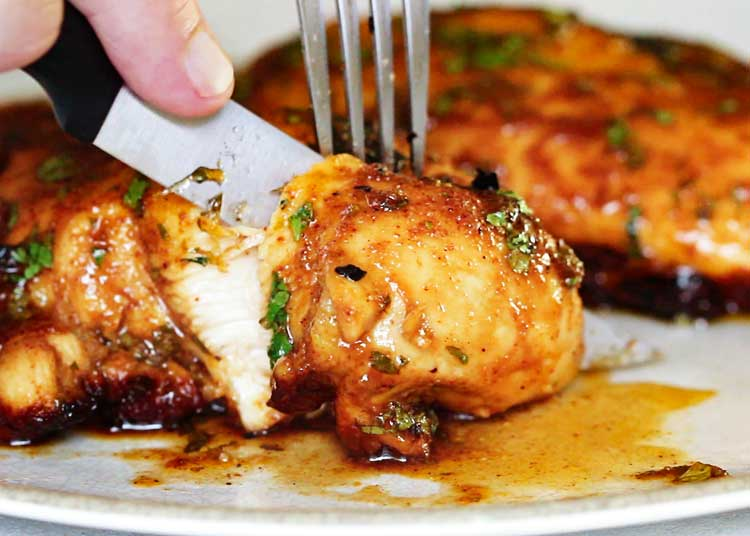 Chipotle Honey Lime Chicken is a smash hit every time. Grilled or sautéed, the citrus marinade, warm spices, fresh herbs and honey make it a flavor explosion. Perfect sliced over salads, in tacos or in a sandwich! keviniscooking.com