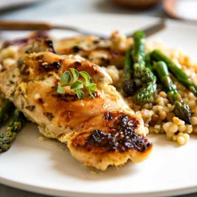 Easy Baked Greek Chicken