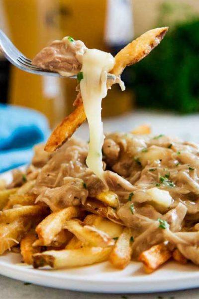 The Ultimate Chicken Poutine