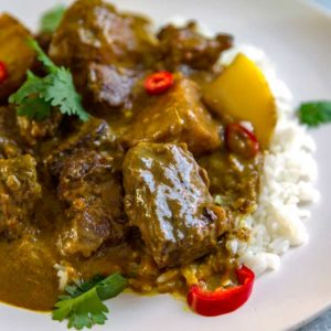 Easy Coconut Beef Curry Stew