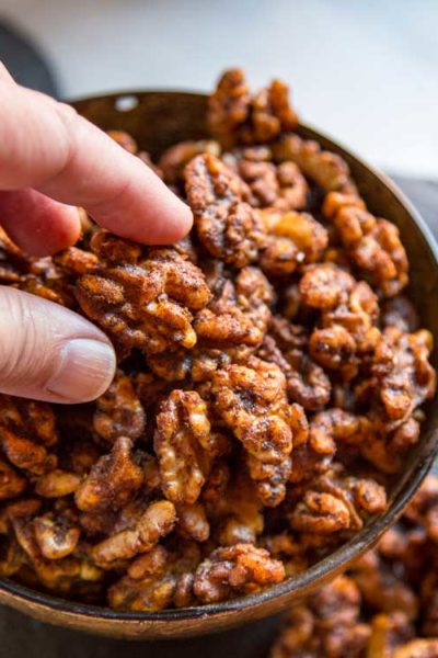 Smoky Spicy Walnuts