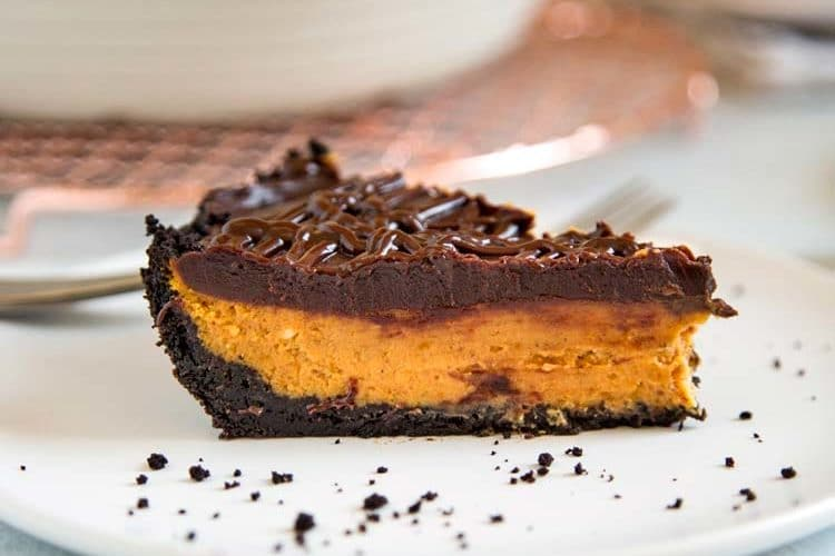 Creamy Chocolate Pumpkin Pie