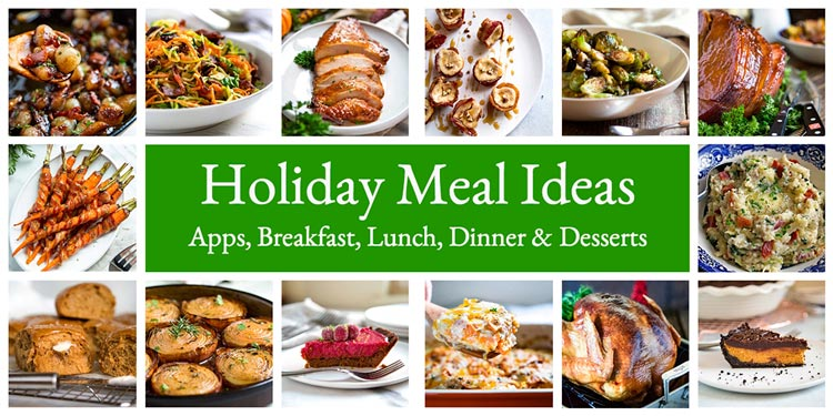 Holiday Meal Ideas keviniscooking.com