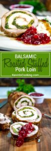 This Roasted Stuffed Pork Loin gets brined, butterflied, layered with prosciutto and broccolini then is tied, rolled and roasted to tender perfection!
